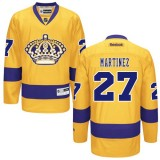 Los Angeles Kings #27 Alec Martinez Authentic Gold Third Jersey Cheap Online 48|M|50|L|52|XL|54|XXL|56|XXXL