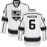 Los Angeles Kings #6 Jake Muzzin White Premier Away Jersey Cheap Online 48|M|50|L|52|XL|54|XXL|56|XXXL