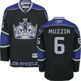 Los Angeles Kings #6 Jake Muzzin Black Premier Third Jersey Cheap Online 48|M|50|L|52|XL|54|XXL|56|XXXL
