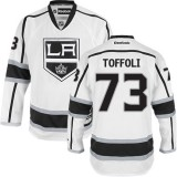 Los Angeles Kings #73 Tyler Toffoli White Authentic Away Jersey Cheap Online 48|M|50|L|52|XL|54|XXL|56|XXXL