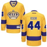 Los Angeles Kings #44 Robyn Regehr Authentic Gold Third Jersey Cheap Online 48|M|50|L|52|XL|54|XXL|56|XXXL