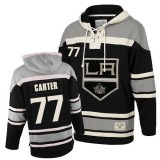 Los Angeles Kings #77 Jeff Carter Authentic Black Sawyer Hooded Old Time Hockey Sweatshirt Cheap Online 48|M|50|L|52|XL|54|XXL|56|XXXL