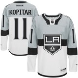 Anze Kopitar Authentic Gray White 2015 Stadium Series Jersey - Los Angeles Kings #11 Clothing