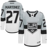 Los Angeles Kings #27 Alec Martinez Authentic White Grey 2015 Stadium Series Jersey Cheap Online 48|M|50|L|52|XL|54|XXL|56|XXXL