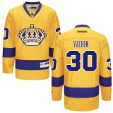 Los Angeles Kings #30 Rogie Vachon Authentic Gold Third Jersey Cheap Online 48|M|50|L|52|XL|54|XXL|56|XXXL