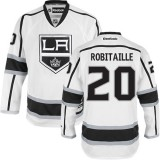Los Angeles Kings #20 Luc Robitaille Authentic White Away Jersey Cheap Online 48|M|50|L|52|XL|54|XXL|56|XXXL