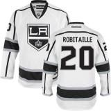 Los Angeles Kings #20 Luc Robitaille Premier White Away Jersey Cheap Online 48|M|50|L|52|XL|54|XXL|56|XXXL