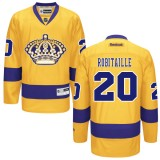 Los Angeles Kings #20 Luc Robitaille Authentic Gold Third Jersey Cheap Online 48|M|50|L|52|XL|54|XXL|56|XXXL