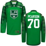 Tanner Pearson GreenSt. Patrick's Day Stitched Jersey - Los Angeles Kings #70 Clothing