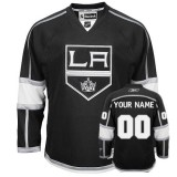 Reebok Los Angeles Kings Customized Black Third Authentic Jersey For Sale Size 48/M|50/L|52/XL|54/XXL|56/XXXL